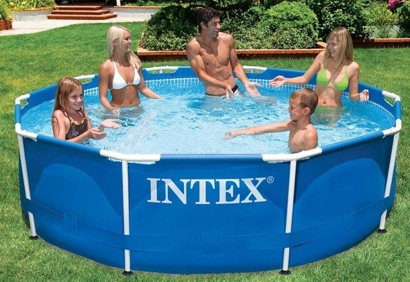 Nadzemní bazény intex