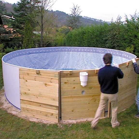 baz n gre nature wood 5 x 1 32 m set. Black Bedroom Furniture Sets. Home Design Ideas