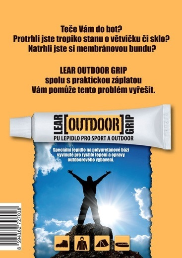 Lepidlo LEAR outdoor grip 15g