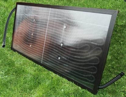 Solární panel k bazénu