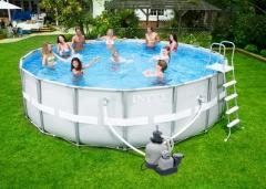Bazén INTEX Ultra Frame 4,88 x 1,22m set + písková filtrace 4m3/hod