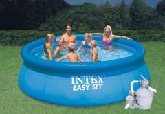Bazén INTEX 4,57 x 0,91 m písková filtrace 3,7m3/hod