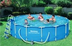 Bazén Bestway s konstrukcí 4,57 x 1,22 m set