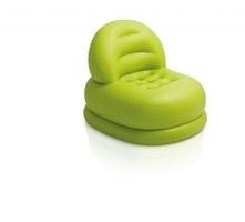 Nafukovací křeslo Intex Mode Chair zelené