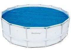 Solární plachta Bestway na bazén s konstrukcí o průměru 4,27m