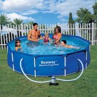 Bazén Bestway s konstrukcí 2,44 x 0,61 m s kartušovou filtrací