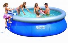 Bazén Bestway 5,49 x 1,07m set + písková filtrace 5,5m3/hod