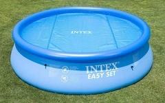 Solární plachta na bazén INTEX o průměru 3,66m