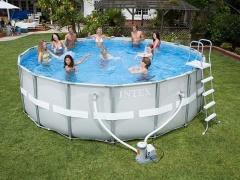 Bazén INTEX Ultra Frame 4,88 x 1,22m set včetně příslušenství