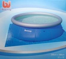 Podložka pod bazén o průměru 3,66m - plachta