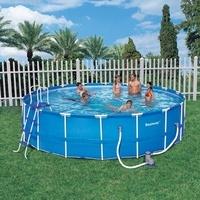 Bazén Bestway s konstrukcí 5,49 x 1,22 m set