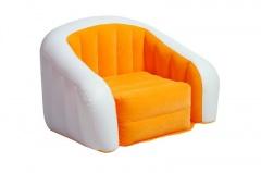 """Nafukovací křeslo Intex Loungen """"Cafe Club Chair"""" oranžové"""