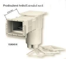 Skimmer VA pro folie 215x160mm se skimvacem-prodloužené hrdlo
