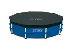 Krycí plachta na bazén INTEX Frame o průměru 4,57m