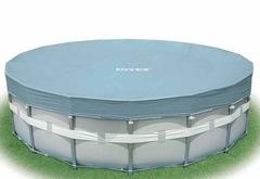 Krycí plachta na bazén INTEX Ultra Frame o průměru 4,88m