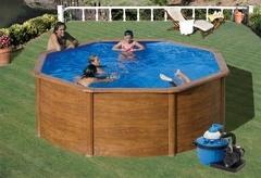 Bazén GRE Pacific 4,6 x 1,2m set + písková filtrace 5,5m3/h