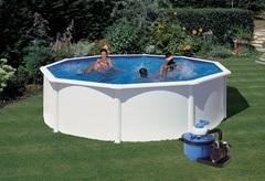 Bazén GRE Fidji 4,6 x 1,2m set + písková filtrace 5,5m3/h