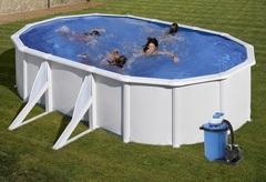 Bazén GRE Fidji 7,3 x 3,75 x 1,2m set + písková filtrace 7m3/h