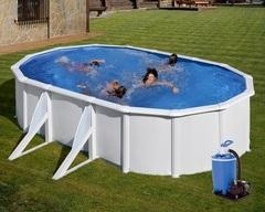 Bazén GRE Fidji 6,1 x 3,75 x 1,32m set + písková filtrace 7m3/h