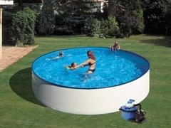 Bazén GRE Splash 4,5 x 0,9m set + písková filtrace 5,5m3/h