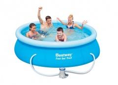 Bazén Bestway 2,44 x 0,66m kartušová filtrace