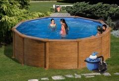 Bazén GRE Pacific 4,6 x 1,32m set + písková filtrace 5,5m3/h