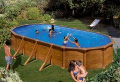 Bazén GRE Pacific 9,15 x 4,7 x 1,32m set + písková filtrace 8m3/h