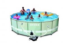 Bazén INTEX Ultra Frame 5,49 x 1,32m set + písková filtrace 6m3/hod