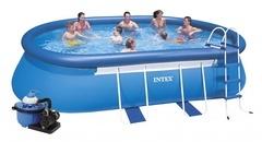 Bazén INTEX 3,66 x 6,10 x 1,22m s pískovou filtrací 5,5m3/hod