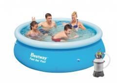 Bazén Bestway 3,05 x 0,76m písková filtrace 2m3/hod