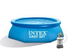 Bazén INTEX 2,44 x 0,76m písková filtrace 2m3/hod